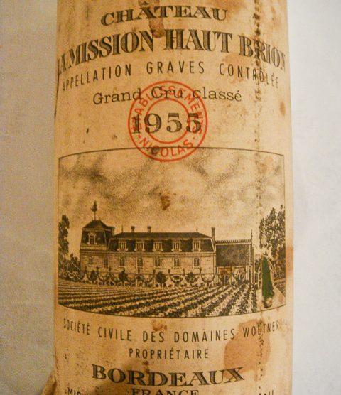1955 Chateau La Mission Haut-Brion