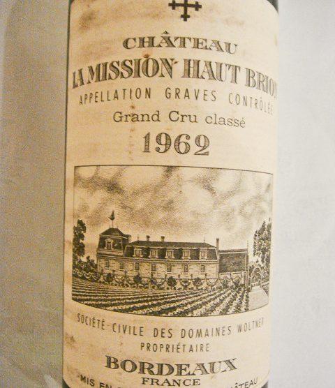 1962 Chateau La Mission Haut-Brion