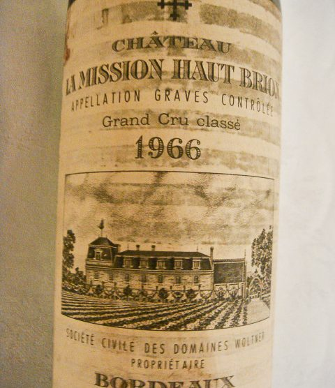 1966 Chateau La Mission Haut-Brion