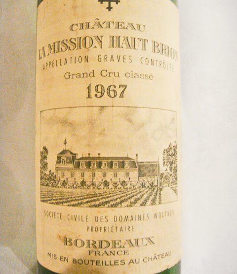 1967 Chateau La Mission Haut-Brion