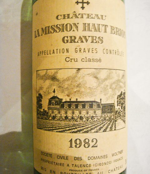1982 Chateau La Mission Haut-Brion
