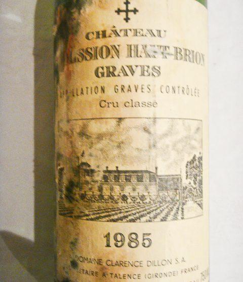 1985 Chateau La Mission Haut-Brion
