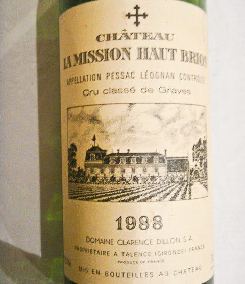 1988 Chateau La Mission Haut-Brion