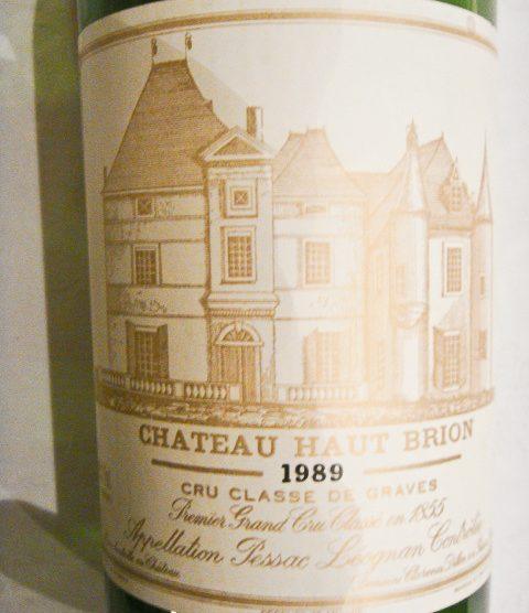 1989 Chateau Haut-Brion