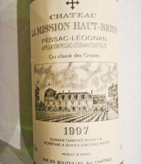 1997 Chateau La Mission Haut-Brion