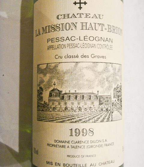 1998 Chateau La Mission Haut-Brion