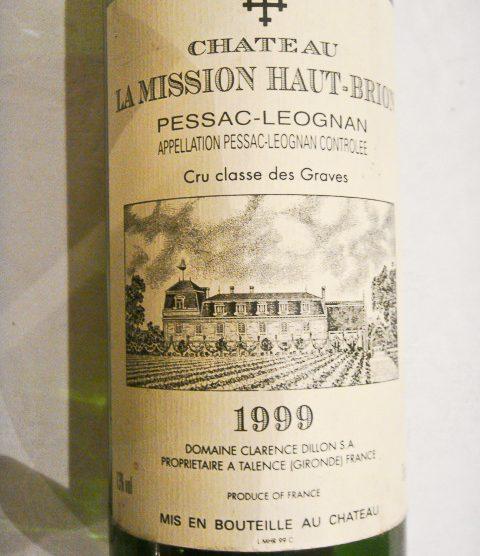 1999 Chateau La Mission Haut-Brion