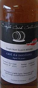 Caol Ila Willi Opitz Label
