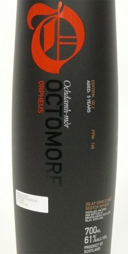 Octomore Orpheus Label