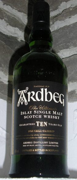 Ardbeg 10 years old - aktuelle Standardabfüllung