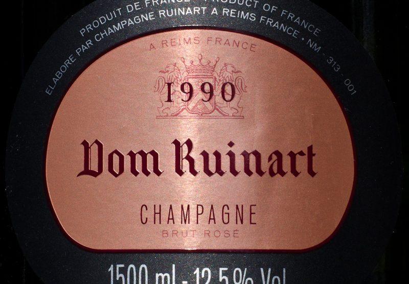 1990 Dom Ruinart Brut Rose
