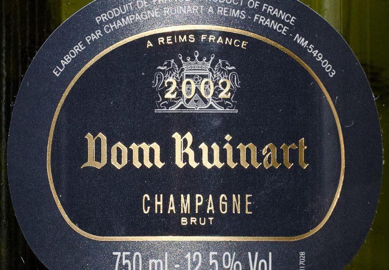 2002 Dom Ruinart Brut