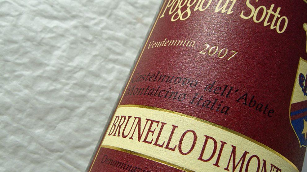 2007 Brunello di Montalcino von Poggio di Sotto