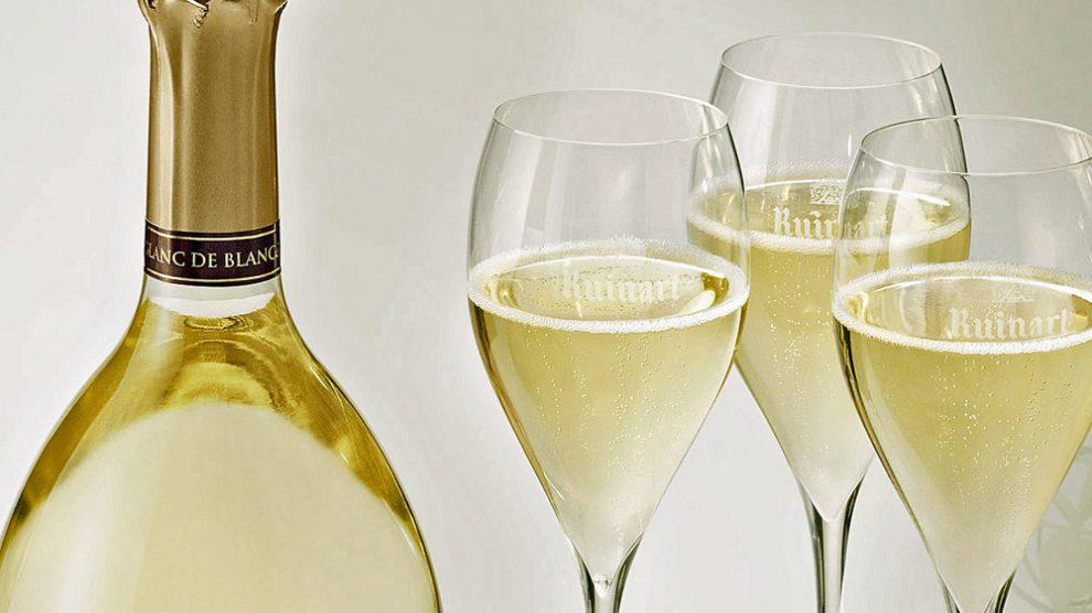 Champagner von Ruinart