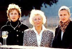 Catherine, Collette und Laurence Faller