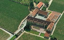 Die Domaine Weinbach im elsaessischen Kayserberg