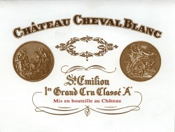 Etikett Cheval Blanc | Foto: Chateau Cheval Blanc