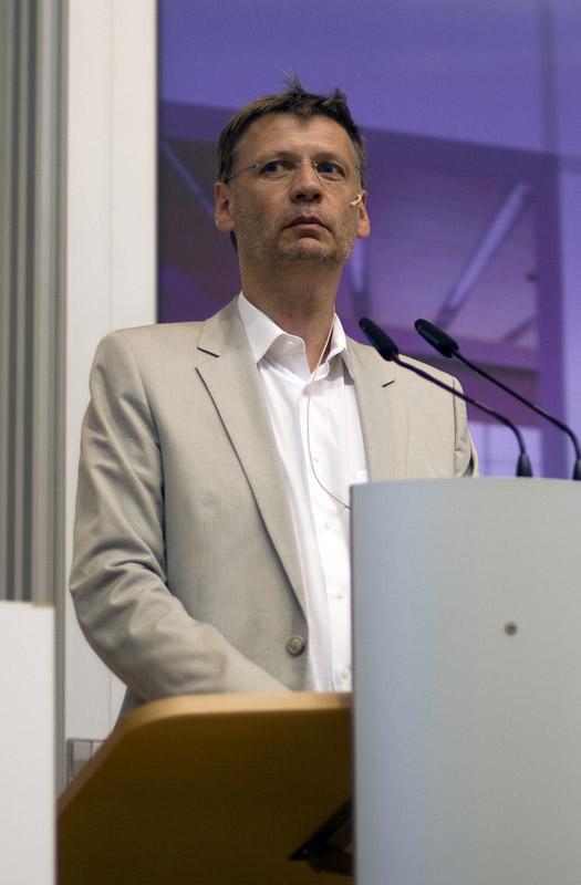 Günther Jauch bei einem Vortrag an der Universität Potsdam | Foto: ©Bastih01
