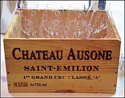 Kiste Chateau Ausone
