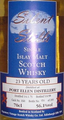 Port Ellen 1975-1998 23y Signatory Silent Stills 56.1%