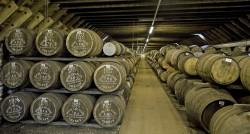 Das Lagerhaus der Highland Park Distillery
