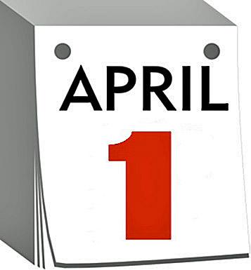 Kalenderblatt 1. April