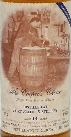 Port Ellen 1983-1998 14y Cooper's Choice 58.1%
