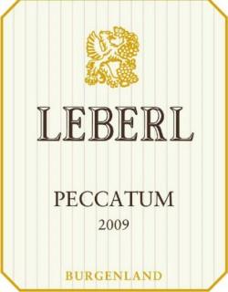 Etikett Leberl Peccatum 2009