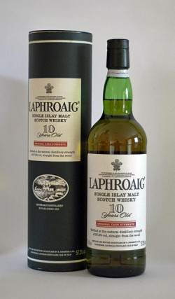 Laphroaig 10yo - Original Cask Strength, Red Stripe, 57.3% - 2002