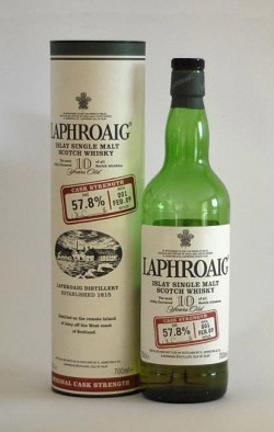 Laphroaig 10yo - Cask Strength Batch 001 FEB.09, 57.8%