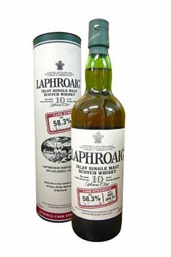 Laphroaig 10yo - Cask Strength Batch 002 JAN.10, 58.3%