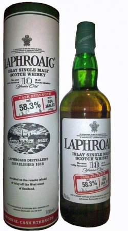 Laphroaig 10yo - Cask Strength Batch 004 JAN.12, 58.3%