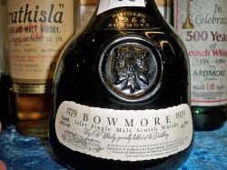 Bowmore 1964-1979 Bicentenary 43% und limitiert auf 20400 Flaschen