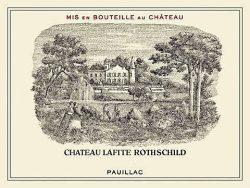 Etikett Chateau Lafite-Rothschild