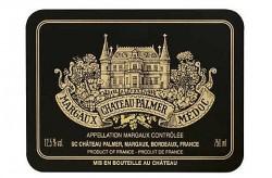 Etikett Chateau Palmer