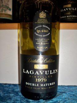 Lagavulin 1979-1997, Distillers Edition Pedro Ximenez Finish. 43%