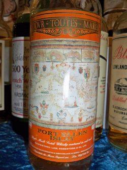 Port Ellen Dovr-Toutes-Mares, Moon Import 1983–1997, 50%, limitiert auf 820 Flaschen