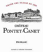 Etikett Pontet Canet