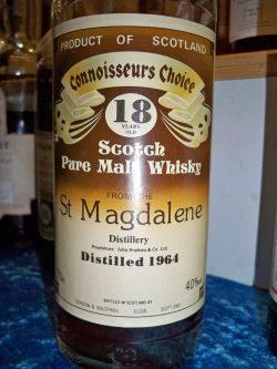St. Magdalene 1964 – 18y G&M Connoisseurs Choice