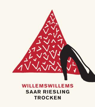 Etikett 2011 Saar Riesling trocken - Weingut Willems-Willems