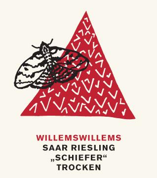 Etikett 2011 Saar Riesling 'Schiefer' trocken - Weingut Willems-Willems