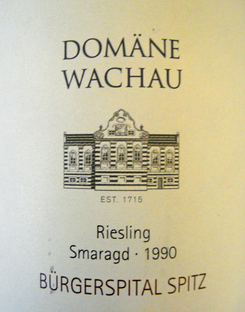 "1990 Riesling Smaragd ""Bürgerspital Spitz"""