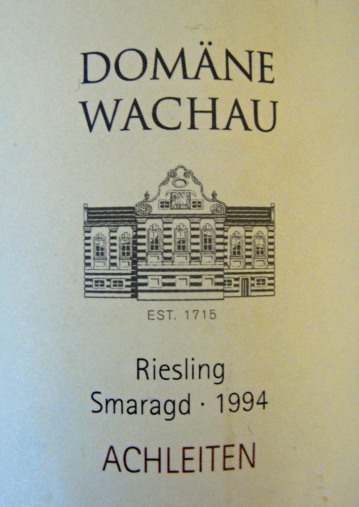 "1994 Riesling Smaragd ""Achleiten"""