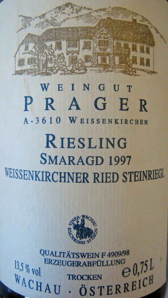"1997 Riesling Smaragd ""Steinriegl"""