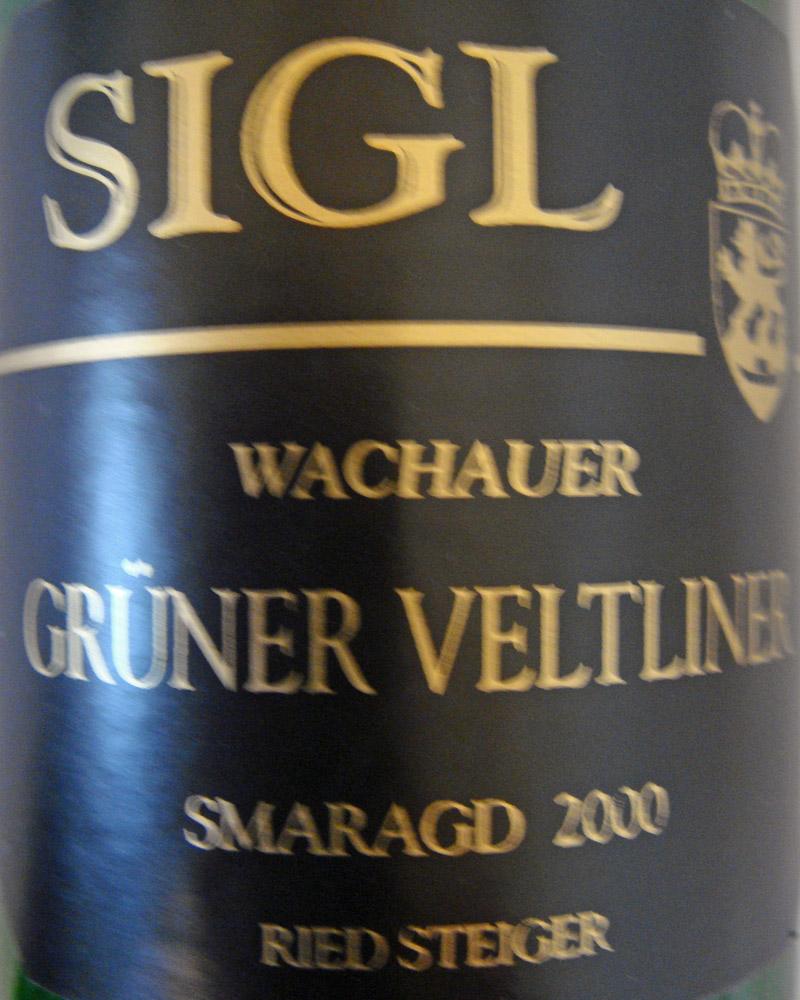 """2000 Grüner Veltliner Smaragd """"Steiger"""""""