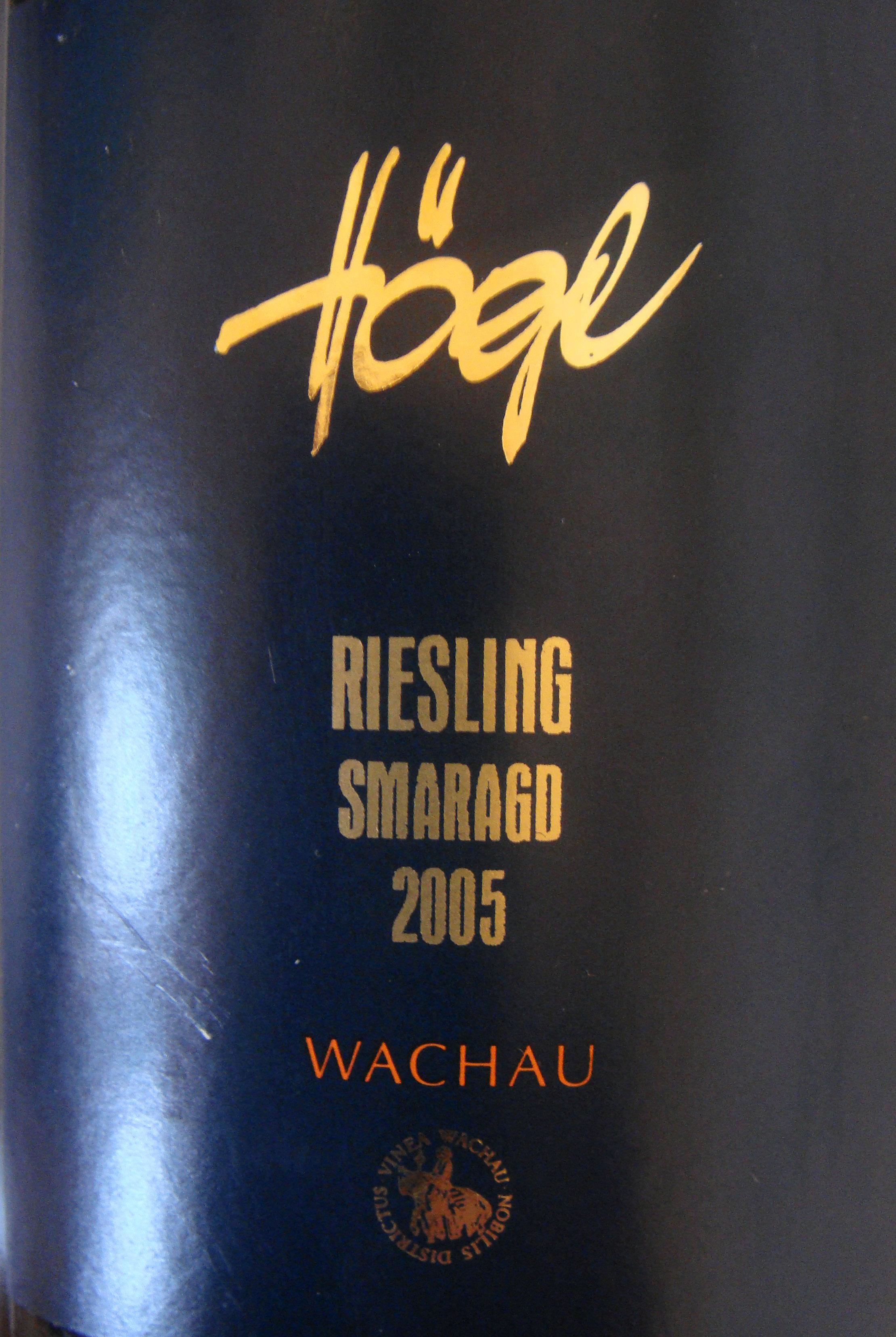 """2005 Riesling Smaragd """"Bruck"""""""