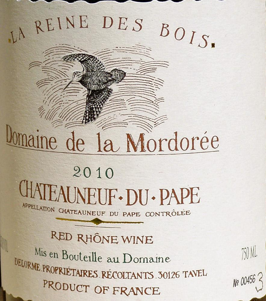 2010 Chateauneuf-du-Pape | Domaine de la Mordoree