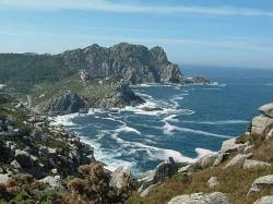 Die galizische Atlantikküste