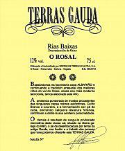 """Etikett 2011 Rias Baixas """"O Rosal"""""""