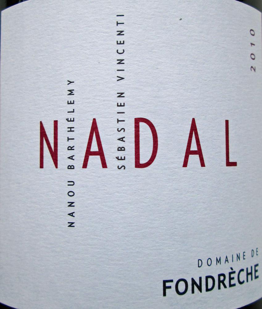 """2010 Ventoux Cuvée """"Nadal"""""""